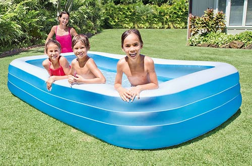 Protecting your kids around inflatable pools